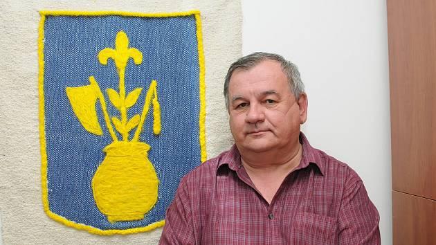 Starosta Horních Tošanovic Petr Martiňák.