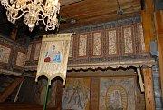 Dřevěný kostel Božího těla v Gutech.