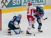 Hokejová extraliga - 50 kolo: Chomutov - Třinec