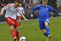 Fotbalisté Třince podlehli překvapivě na svém trávníku olomouckému béčku 0:1.