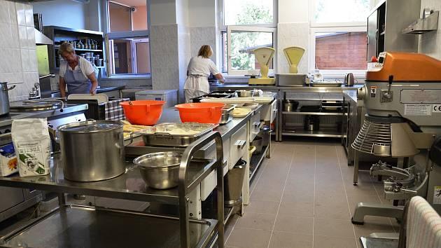 Centrum sociální pomoci má novou kuchyň.