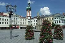 Místecké náměstí Svobody.