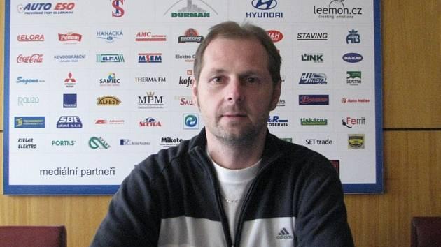 Sportovní ředitel Radomír Myška.