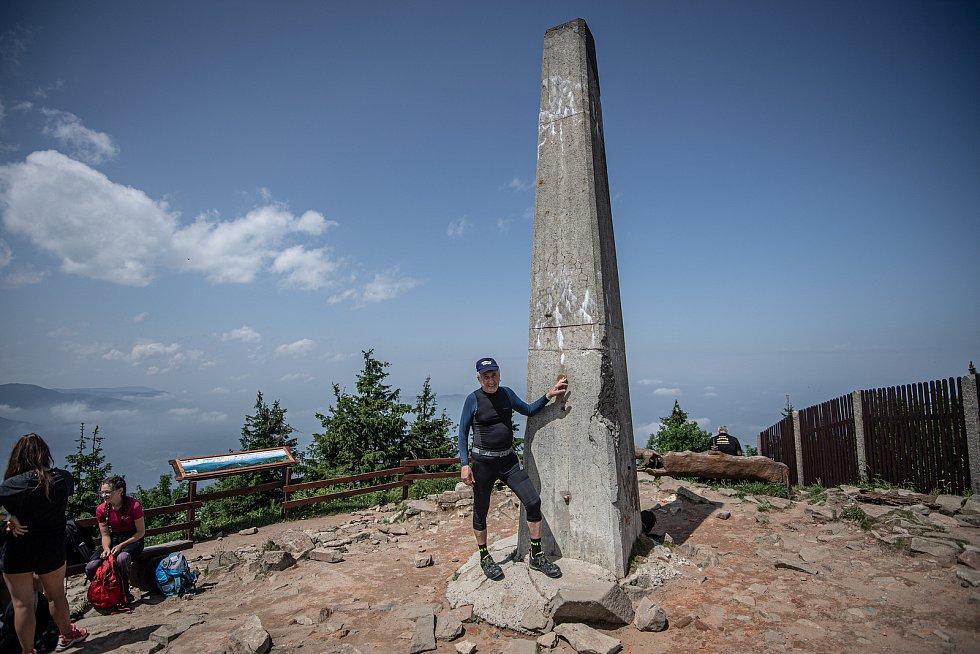 Ján Čupa na Lysé hoře.