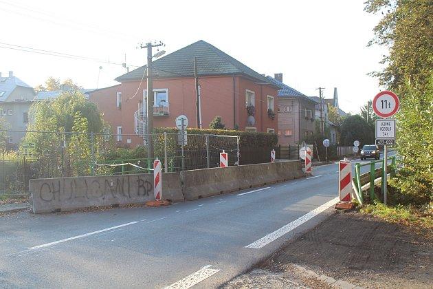 Most vBašce čeká demolice.