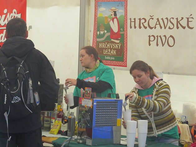 Beerfest a gastronomický festival v Hrčavě.