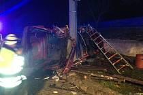 Nehoda v obci Staříč