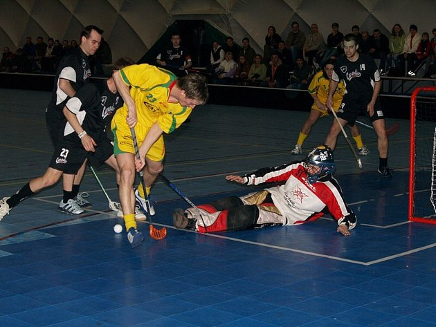 Paskovští florbalisté senzačně postoupili přes Vinohrady do semifinále I. ligy.