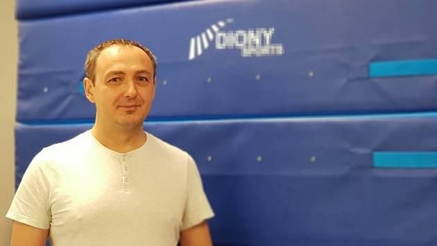 David Šmíra, obchodní ředitel a jednatel firmy Diony Sports z Frýdlantu nad Ostravicí.