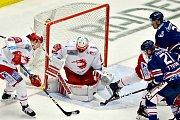 Třinečtí hokejisté dokázali nad Vítkovicemi zvítězit i podruhé.