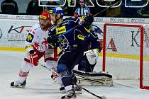 22. kolo hokejové extraligy: HC Oceláři Třinec – Rytíři Kladno 2:3