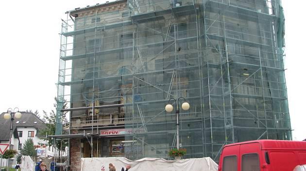 Secesní dům v historickém centru Jablunkova dostane novou fasádu.