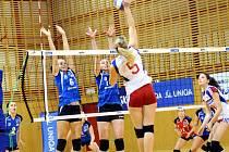 Extraligové volejbalistky Frýdku-Místku si v domácím prostředí snadno poradily s mladým týmem SG Brno, když vyhrály hladce 3:0.