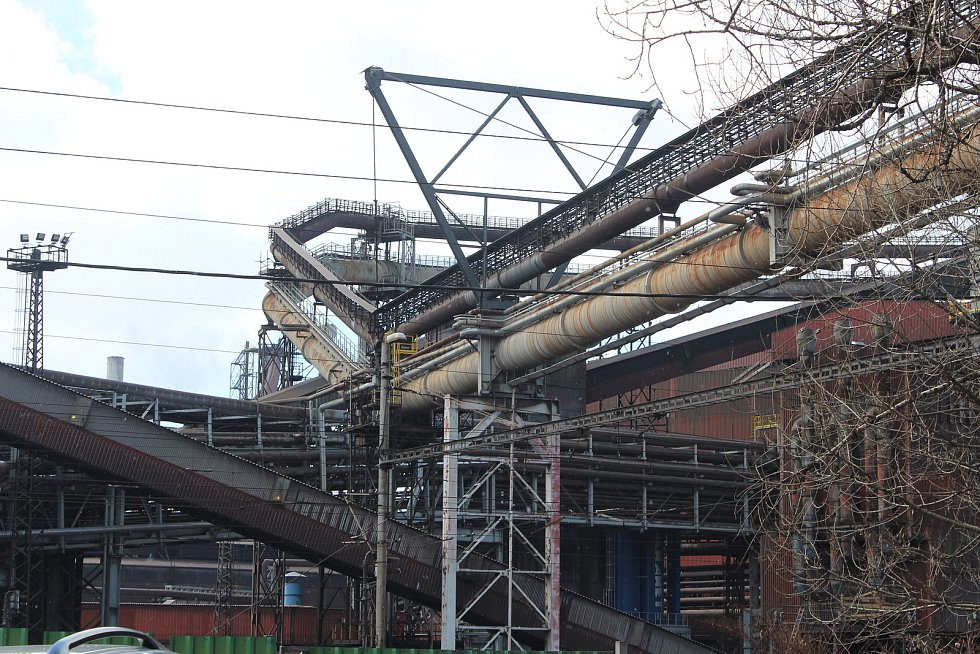 Třinecké železárny.