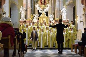 Koncert chlapeckého sboru Boni Pueri.