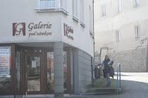 Galerie Pod zámkem ve Frýdku-Místku je v současné době místem výstavy Zdeňka Červinky.
