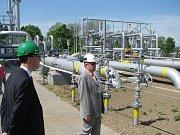Podzemní zásobník zemního plynu v Třanovicích.