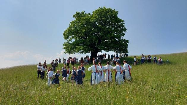 Setkání u dubu v Kozlovicích