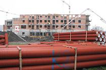 Hotel ve Vendryni má být dokončen asi za rok. I zde jde podle všeho o investici za stovky milionů korun.