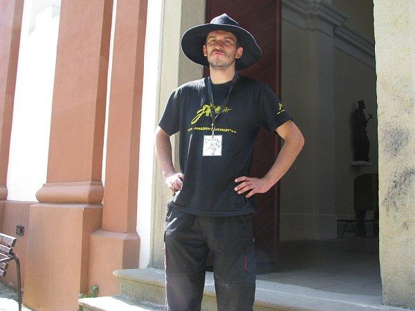 Miroslav Holiš dělá kastelána na hradě Hukvaldy rád.