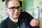 Tobiáš Oberreiter, Lučina, nar. 19. 2., 48 cm, 3,33 kg. Nemocnice ve Frýdku-Místku.