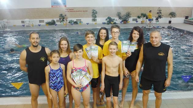 PLAVCI z Plaveckého oddílu Frýdek-Místek se představili v havířovském bazénu, odkud si přivezli osm medailí.