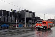 Stavba třineckého výjezdového centra.