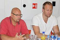 Hokejisty HC Frýdek-Místek povedou v nové sezoně trenéři Jiří Juřík (vlevo) a Marek Malík.