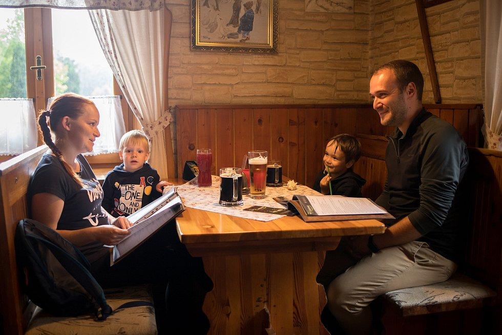 Restaurace Harcovna u Fucimanů, 16. července 2020 ve Frýdlantu nad Ostravicí.