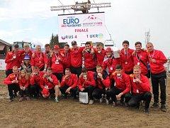 Český zástupce na evropském šampionátu amatérských týmů 1. BFK Frýdlant nad Ostravicí znovu nezklamal a po stříbru zpřed čtyř let z rakouského Kleinarlu, dokázal tentokráte získat medaile bronzové barvy.