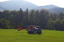 Záchranáři v Beskydech. Ilustrační foto.