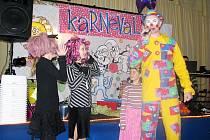 Maškerní karneval ve Staré Vsi nad Odnřejnicí.