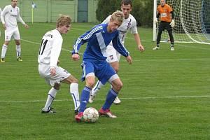 Fotbalisté Frýdku-Místku na hřišti trápící se Líšně zaváhali, když tam prohráli 1:0.