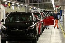 Nošovická automobilka vyrobila za rok 2015 celkem 342 200 aut, čímž překročila plán o 3,7 procenta.