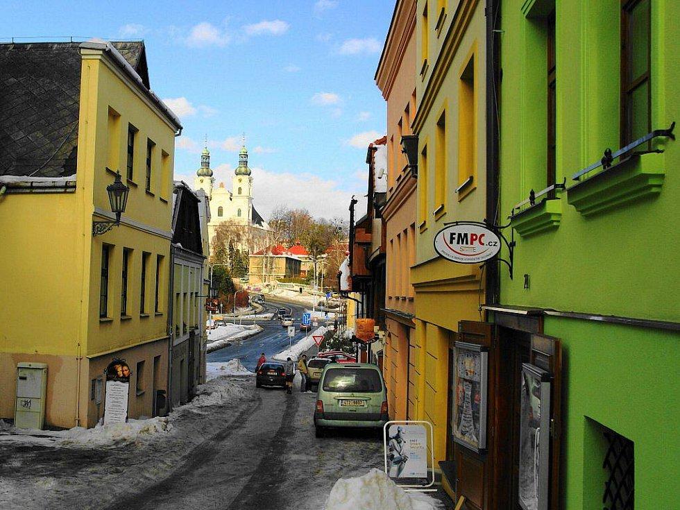 Frýdek – Hluboká ulice.
