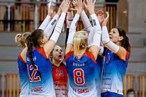 Volejbalistky Frýdku-Místku by se příští rok rády dostaly do play off.