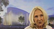 Eva Jiřičná představila projekt přístavby Národního domu.