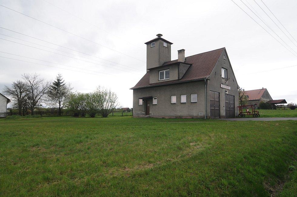 Hasičská zbrojnice v Kaňovicích.