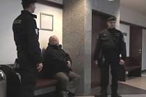 Petr Sajitz u frýdecko-místeckého soudu.