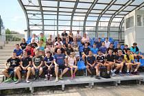 Frýdecko-místečtí házenkáři se zvěčnili se svým partnerským klubem z německého TSV Griedel.