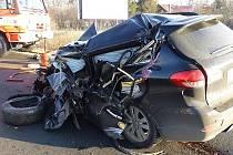 Tragická nehoda v Kunčičkách u Bašky.