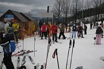 Mostecký lyžařský areál patří k nejvyhledávanějším na Jablunkovsku.