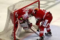 Páté utkání finále play off: HC Oceláři Třinec - HC Verva Litvínov 2:1