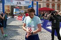 Petra Pastorová doběhla na Pražském mezinárodním maratonu mezi ženami devátá, z českých závodnic byla ale nejlepší.