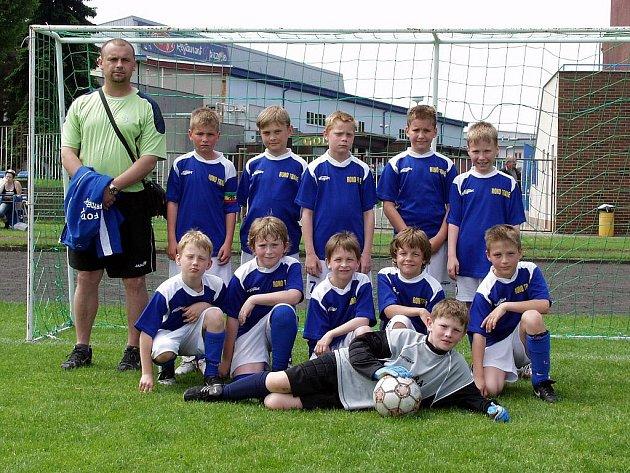 Benjamínci Frýdku-Místku skončili na turnaji třetí.
