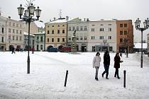 Náměstí Svobody v Místku. Právě z této městské části odcházejí obyvatelé velice často jinam.
