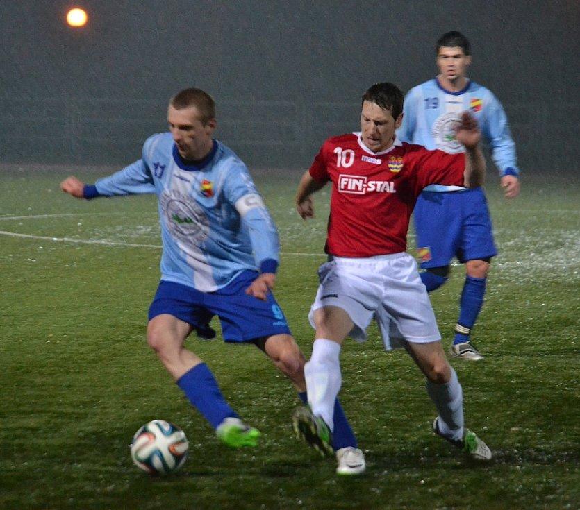 Derby mezi Dobrou a Lučinou skončilo nakonec bezbrankovou remízou.