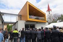 V Palkovicích v sobotu odpoledne slavnostně otevřeli zmodernizovanou hasičskou zbrojnici.
