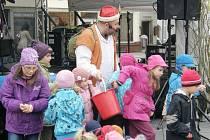 V minulém roce se děti před velikonočními svátky bavily také při pohádce, které se samy mohly zúčastnit.