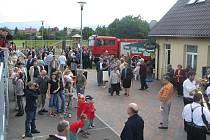 V Nošovicích v sobotu 30. srpna proběhly Nošovické slavnosti, při kterých se požehnalo novému hasičskému autu a vysvětily se boží muka.